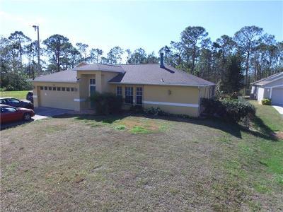 Naples Single Family Home For Sale: 4555 20th St NE