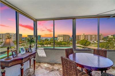 Condo/Townhouse For Sale: 3410 Gulf Shore Blvd N #606