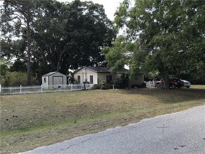 Fort Myers Single Family Home Pending With Contingencies: 4640 Lavonne Ave