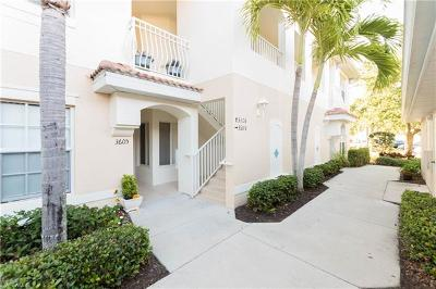 Naples Condo/Townhouse Pending With Contingencies: 3041 Driftwood Way #3608