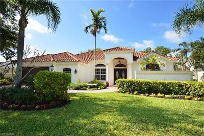 Naples Single Family Home For Sale: 2095 Mission Dr