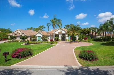 Naples Single Family Home For Sale: 3206 Sedge Pl