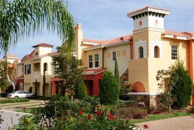 Estero Condo/Townhouse For Sale: 8540 Via Lungomare Cir #203