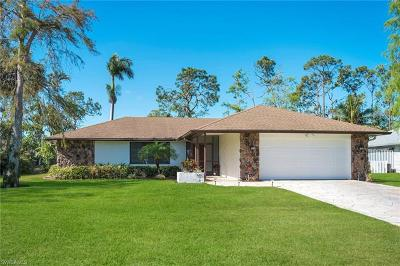 Naples Single Family Home For Sale: 3067 Round Table Ct