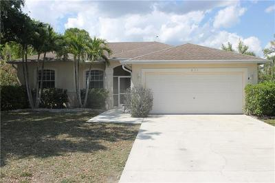 Naples Single Family Home For Sale: 831 Grove Dr