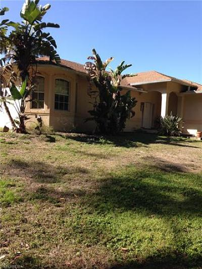Naples Single Family Home For Sale: 5751 Cope Ln