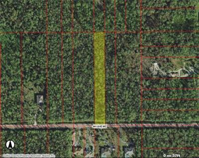 Collier County Residential Lots & Land For Sale: 4th Ave NE