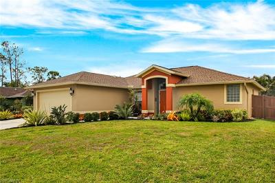 Bonita Springs Single Family Home For Sale: 10601 Woodchuck Ln