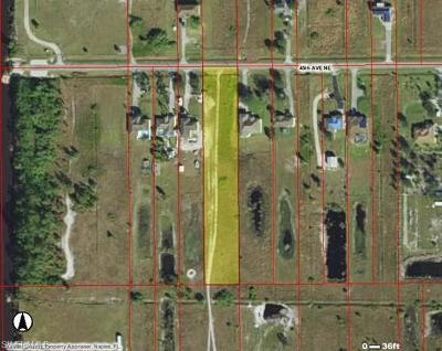 Collier County Residential Lots & Land For Sale: 45th Ave NE