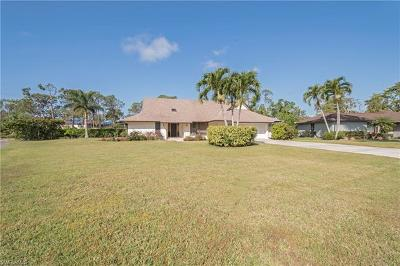 Naples Single Family Home For Sale: 1701 Knights Ct