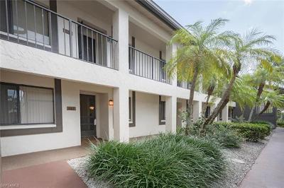 Naples Condo/Townhouse For Sale: 5809 Rattlesnake Hammock Rd #105