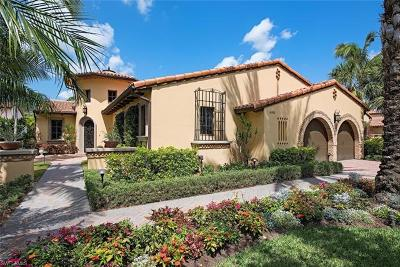 Naples Single Family Home For Sale: 16999 Cortile Dr