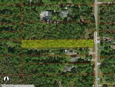 Collier County Residential Lots & Land For Sale: 0000 Wilson Blvd N