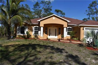 Collier County Single Family Home For Sale: 4610 40th St NE