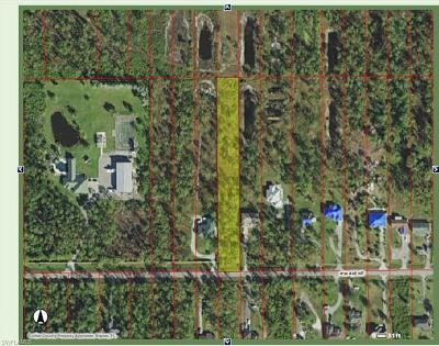 Naples Residential Lots & Land Pending With Contingencies: 3675 41st Ave NE