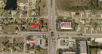 Cape Coral Commercial Lots & Land For Sale: 1 Nicholas Pky W