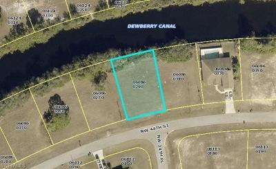 Charlotte County, Collier County, Desoto County, Glades County, Hendry County, Lee County, Sarasota County Residential Lots & Land For Sale: 3417 NW 44th St