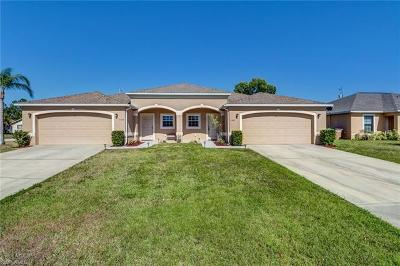 Lee County Multi Family Home For Sale: 1403 SE 1st Pl