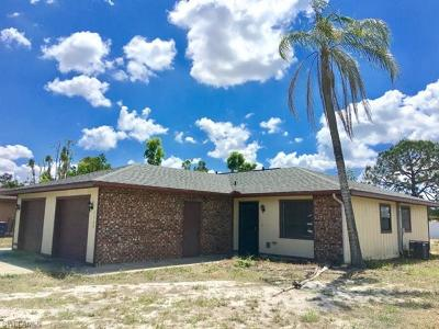 Lee County Single Family Home For Sale: 7378 Albany Rd