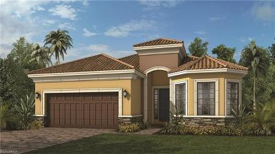 Naples Single Family Home For Sale: 8387 Palacio Ter S
