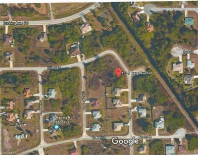 Lehigh Acres Residential Lots & Land For Sale: 1125 Capp Ave