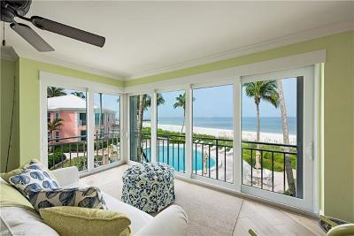 Naples, Bonita Springs Condo/Townhouse For Sale: 2401 Gulf Shore Blvd N #8