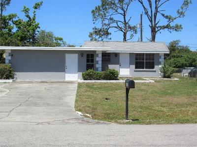 Collier County, Lee County Single Family Home Pending With Contingencies: 4520 Normandy Dr