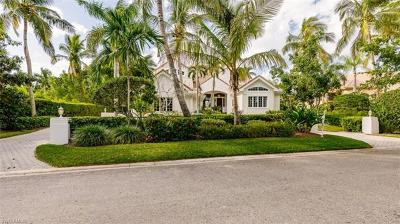 Naples FL Single Family Home For Sale: $5,200,000