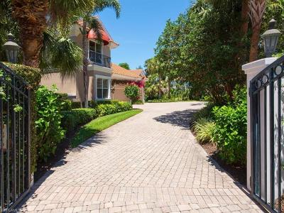 Naples FL Single Family Home For Sale: $4,195,000