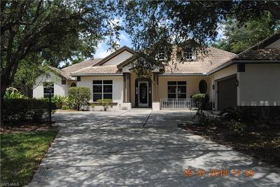 Naples FL Single Family Home Pending With Contingencies: $619,900