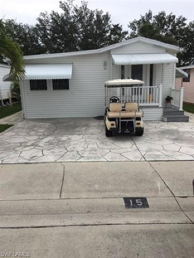 Goodland, Marco Island, Naples, Fort Myers, Lee Mobile/Manufactured For Sale: 15 Bass Ln #15
