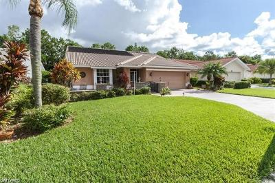 Naples  Single Family Home For Sale: 121 Saint James Way