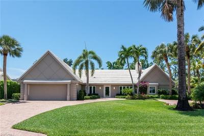 Naples FL Single Family Home Pending With Contingencies: $1,695,000