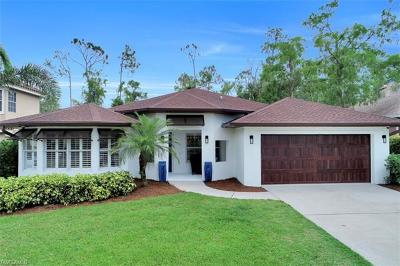 Naples Single Family Home Pending With Contingencies: 5182 Mabry Dr