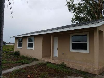 Lehigh Acres FL Single Family Home For Sale: $119,900