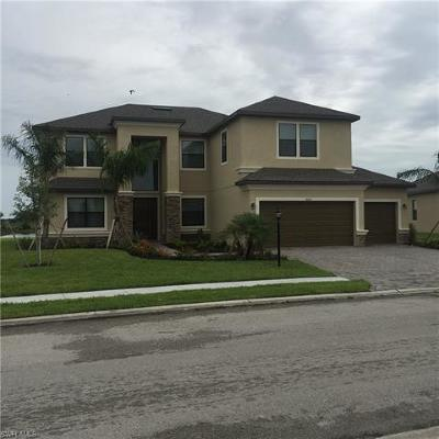 Collier County, Lee County Single Family Home For Sale: 14106 Mindello Drive