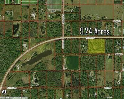 Naples Residential Lots & Land For Sale: 18960 Immokalee Rd