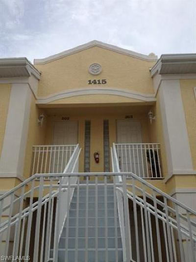 Naples Rental For Rent: 1415 Sweetwater Cv #203