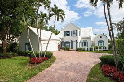 Naples FL Single Family Home For Sale: $7,900,000