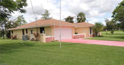 Lehigh Acres Single Family Home For Sale: 2513 Lakeview Dr
