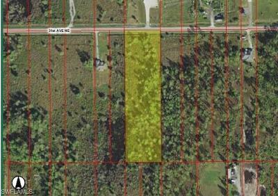 Naples FL Residential Lots & Land For Sale: $55,000