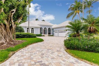 Naples FL Single Family Home For Sale: $7,125,000