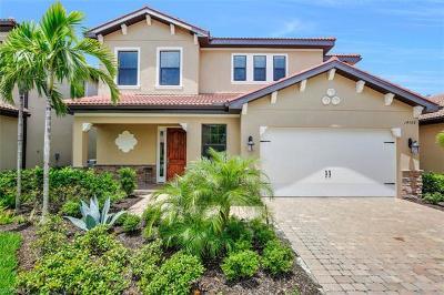 Naples Single Family Home For Sale: 14568 Tuscany Pointe Trl E