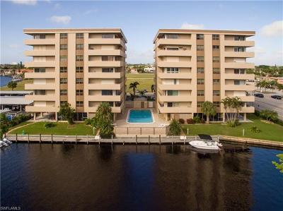 Cape Coral Condo/Townhouse For Sale: 4803 Sunset Ct #406