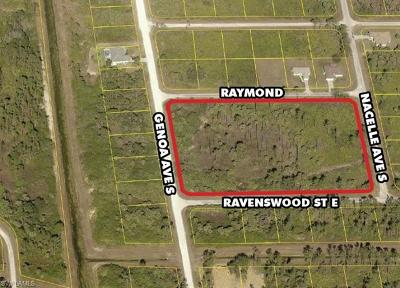 Lehigh Acres Residential Lots & Land For Sale: 1112 Raymond St E