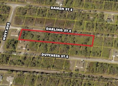 Lehigh Acres Residential Lots & Land For Sale: 1138 Darling St E