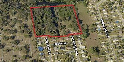 Fort Myers Residential Lots & Land For Sale: 1455 Lockwood Dr