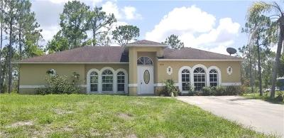Collier County, Lee County Single Family Home For Sale: 4060 18th Ave NE