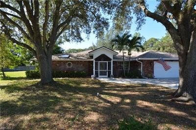 Bonita Springs Single Family Home Pending With Contingencies: 10406 Wood Ibis Ave