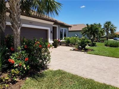 Naples Single Family Home For Sale: 8527 Palacio Ter N